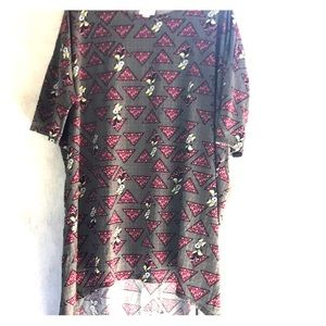 XL LulaRoe Minnie Mouse Irma